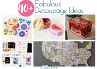 40+ Fabulous Decoupage Ideas