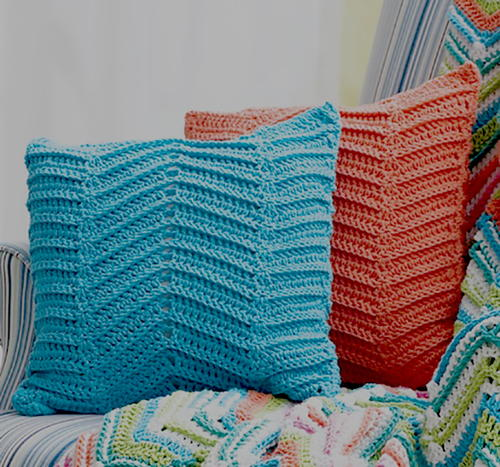 Crochet Pattern For Zig Zag Rug : Easy Mandala Crochet Rug FaveCrafts.com