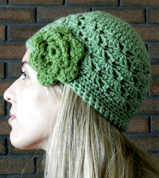 Shell Stitch Crochet Hat Pattern AllFreeCrochet.com