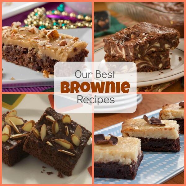Our Best Brownie Recipes: Top 12 Chocolate Brownie Recipes | MrFood ...