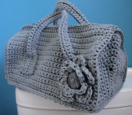 Duffel Purse Crochet Bag Pattern Allfreecrochet Com