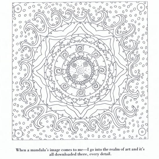 Color Yourself Calm Mandala Favecrafts Com