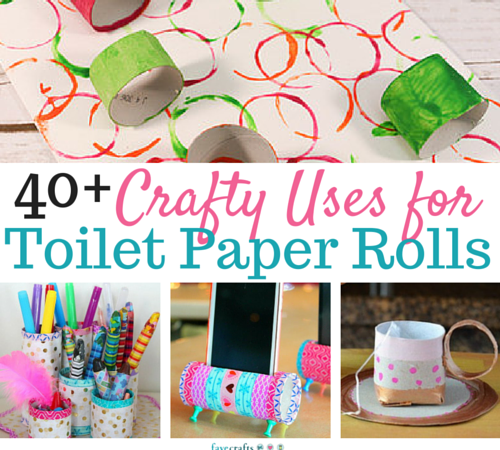 Toilet paper roll crafts 62 uses for toilet paper rolls for Paper roll projects