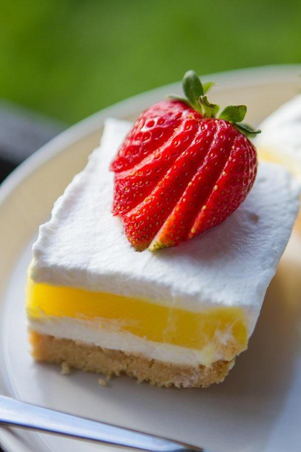 no bake lemon dessert lasagna allfreecasserolerecipes com