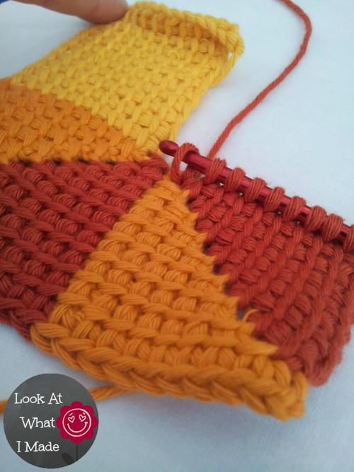Ten Stitch Tunisian Crochet AllFreeCrochetAfghanPatterns.com