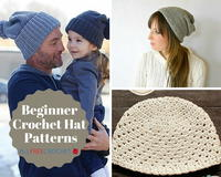 36 Beginner Crochet Hat Patterns