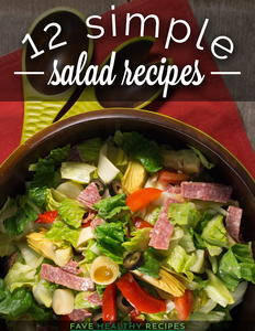 12 Simple Salad Recipes