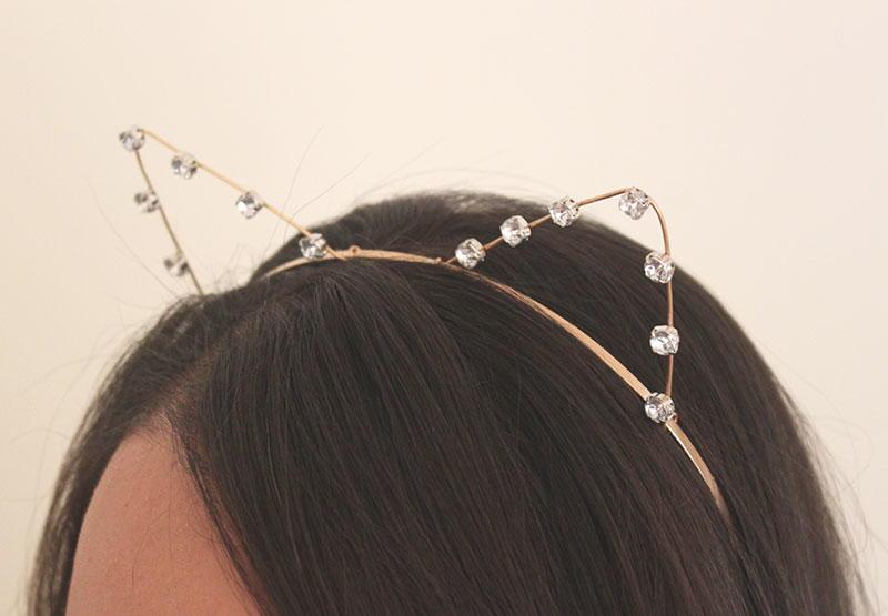Bejeweled Cat Ears Diy Headband Allfreejewelrymaking Com