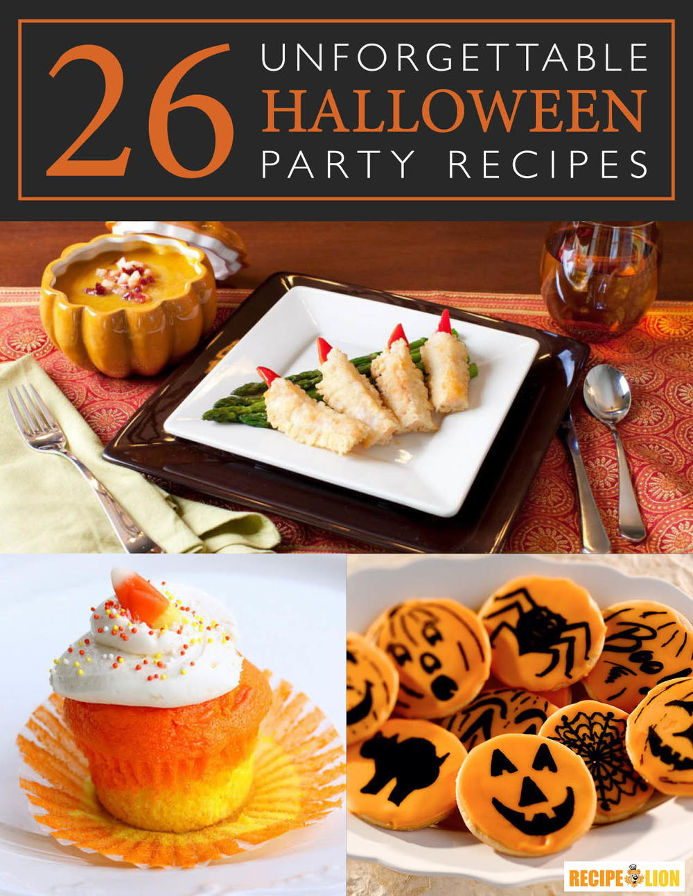 26 Unforgettable Halloween Party Recipes Free Ecookbook Recipelion Com
