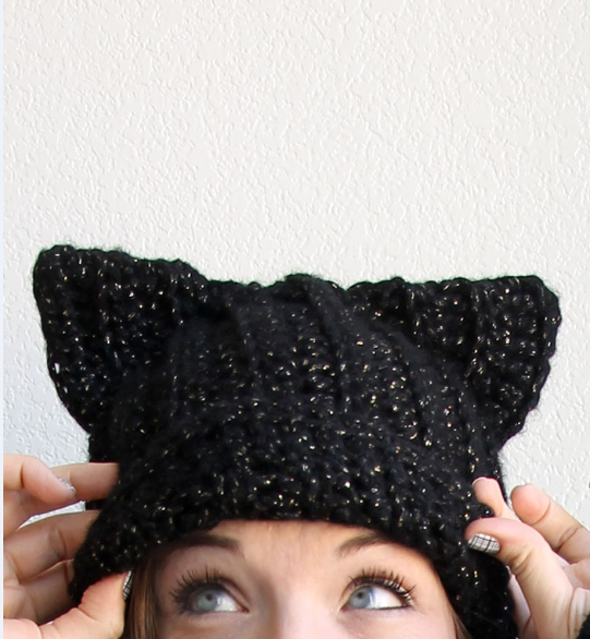 Purrfect Cat Ears Hat  f0e5b926140