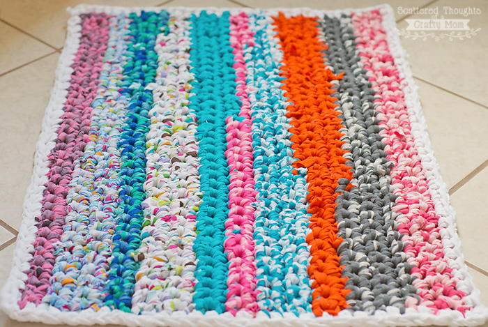 Brilliant Diy Rag Rug Favecrafts Com