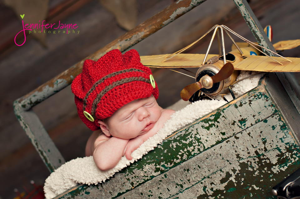 236fc7c71f2 Brimmed Crochet Baby Beanie