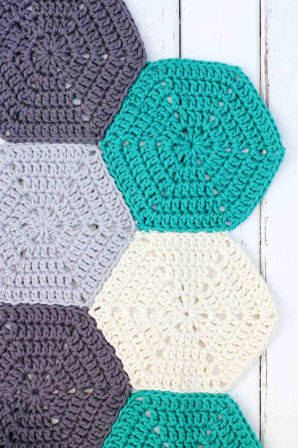 How To Join Crochet Hexagons With Invisible Seams Allfreecrochet