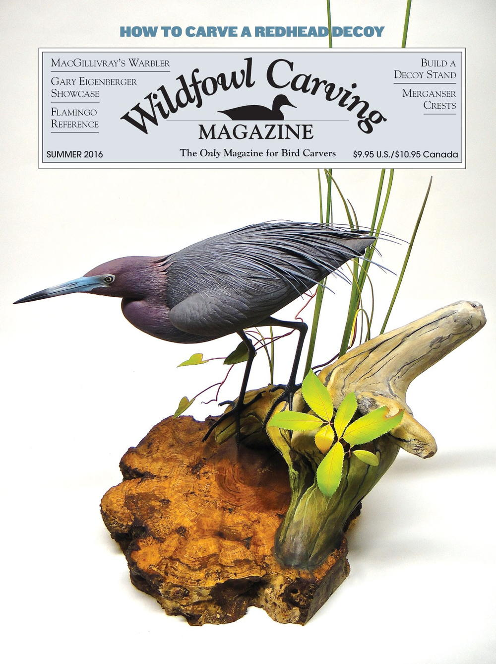 Wildfowl Carving Magazine-Winter 2016//Bird Wood Decoys