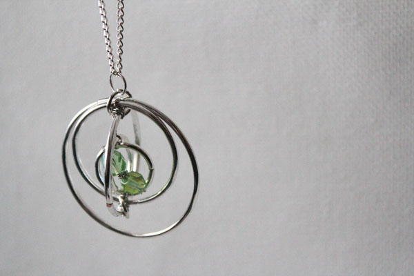 Time Turner Pendant Diy Necklace Allfreejewelrymaking Com