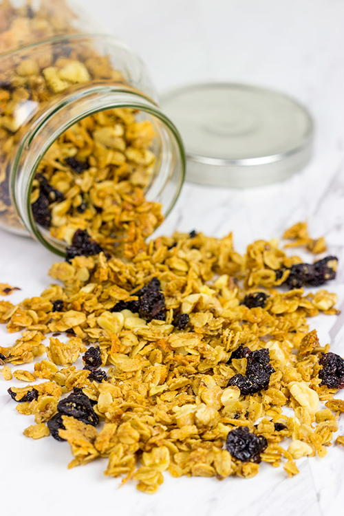 Cherry Walnut Granola