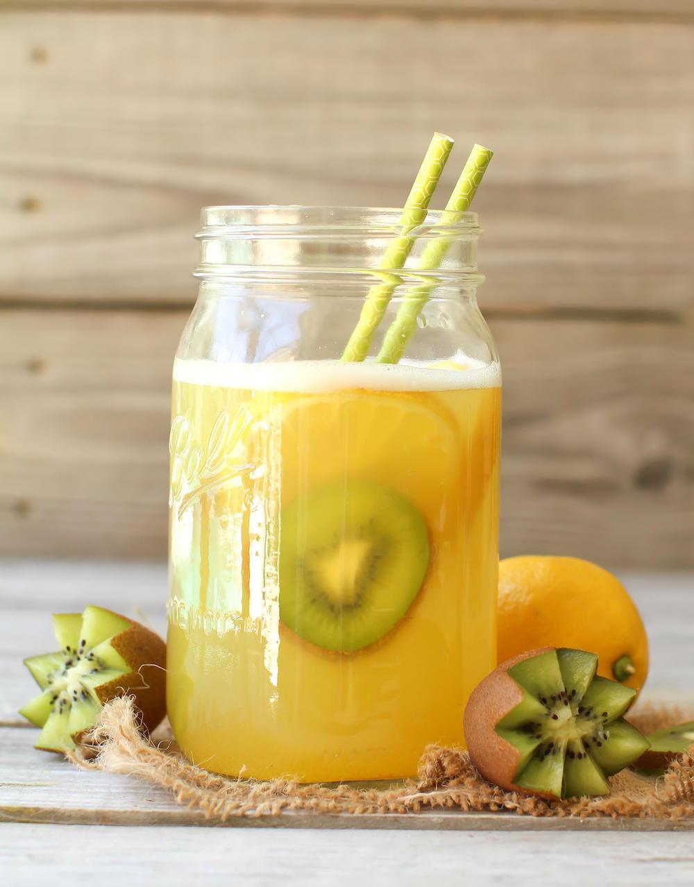 Fruit Sweetened Lemonade