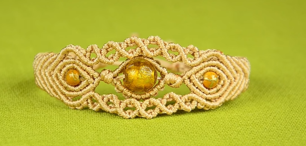 tribal woven bracelet in bohemian gypsy hippie style for beach and summer festival Small boho chic black micro-macrame bracelet