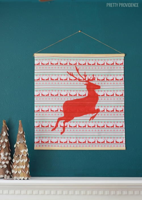 Reindeer DIY Wall Hanging