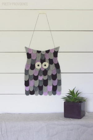 Owlish DIY Wall Decor