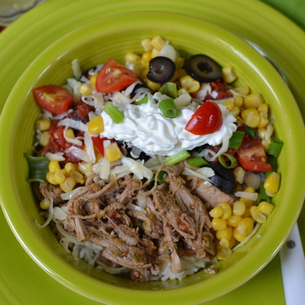 Mexican Pork Rice Bowl | RecipeLion.com