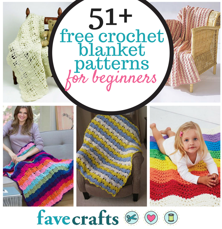 51 Free Crochet Afghan Patterns For Beginners Favecrafts Com
