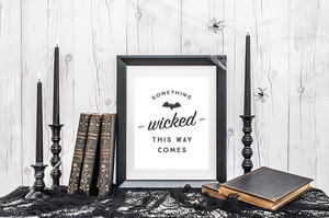 Something Wicked Free Printable