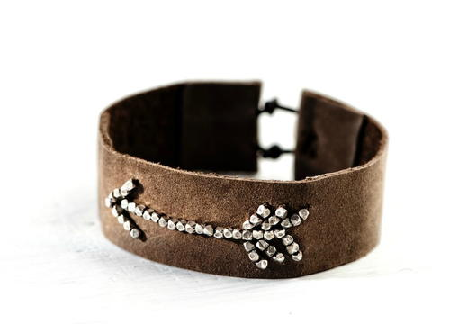 Bohemian Arrowhead DIY Bracelet