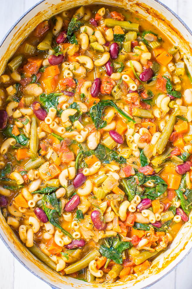 Copycat olive garden minestrone recipe - What kind of soup does olive garden have ...
