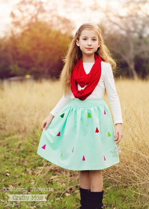 Cheery Trees DIY Skirt