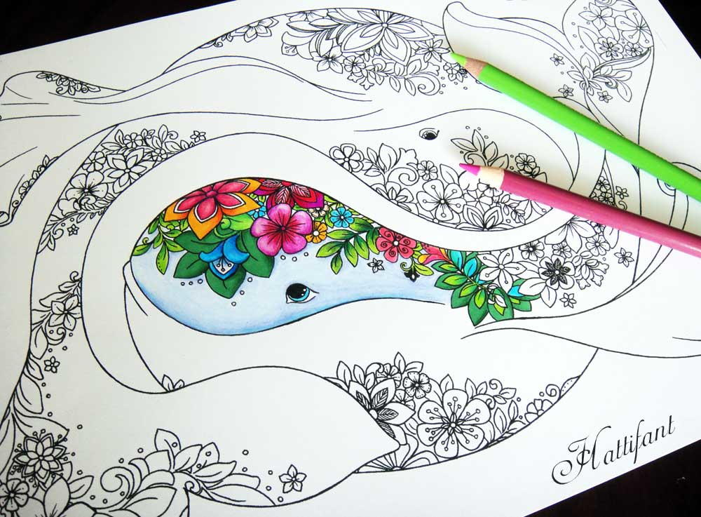 Amazing Ocean Coloring Pages | FaveCrafts.com