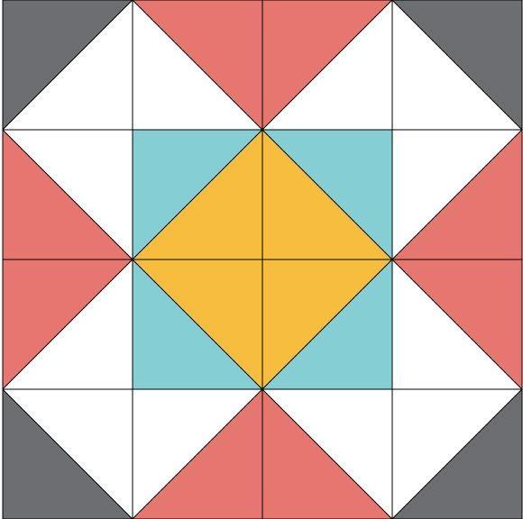 Dutch Windmill Block Pattern Favequilts Com
