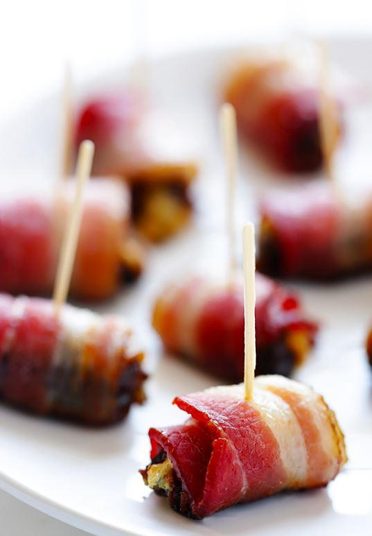 3-Ingredient Bacon-Wrapped Dates