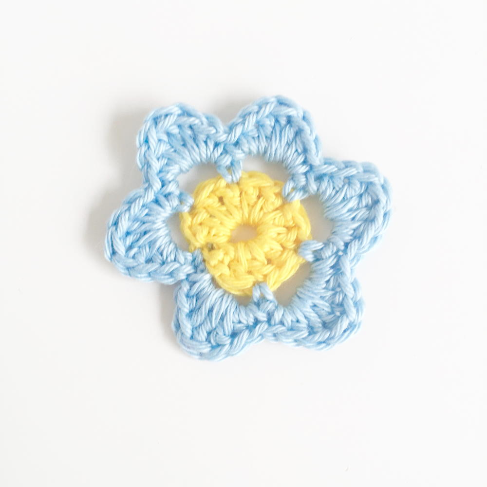 Crochet Patterns With Super Fine Yarn : Super Simply Crochet Flower Pattern AllFreeCrochet.com