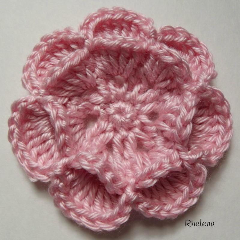 Floating Crochet Flower Allfreecrochet