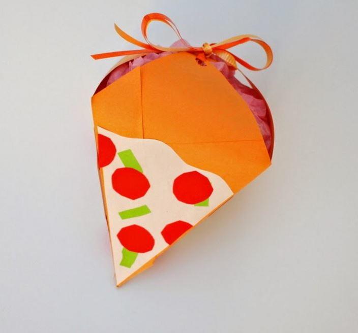 Much Kneaded Pizza Diy Gift Box Allfreepapercrafts Com