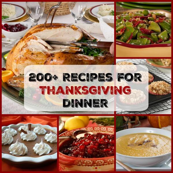 Easy Thanksgiving Menu: 200+ Recipes For Thanksgiving