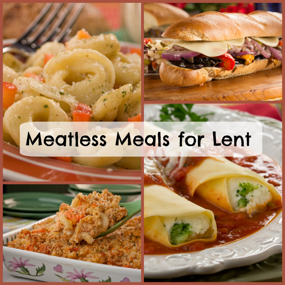 Recipes For Lent: 30 Meatless Meals