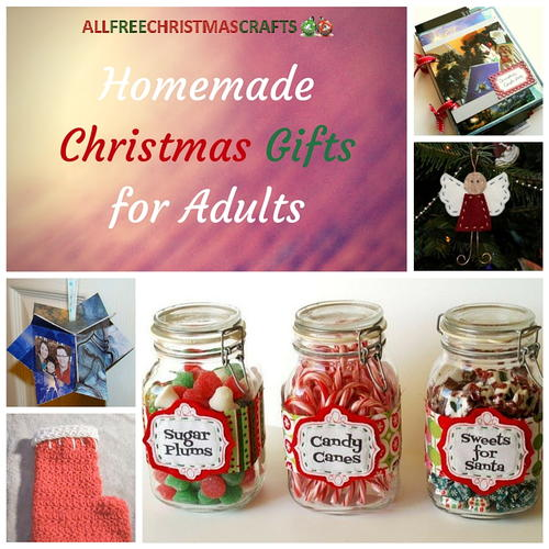 5 Homemade Christmas Gifts for Adults