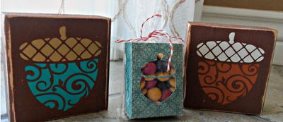 Amazing Acorn Homemade Gifts