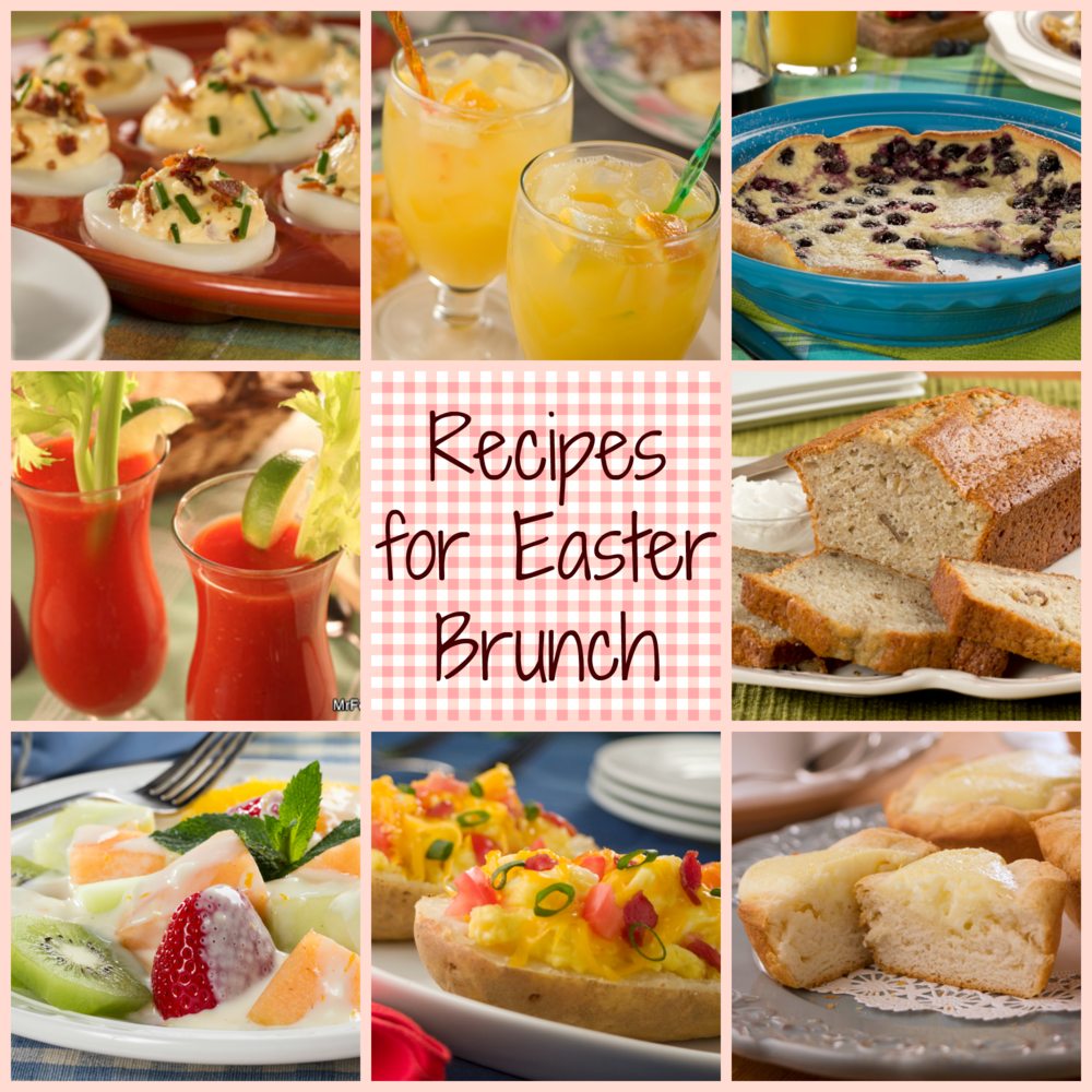 Easter brunch recipe bonanza 12 recipes for easter brunch Fun easter brunch ideas