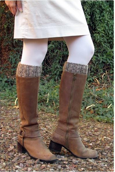 Easy Double Sided Boot Cuffs Allfreeknitting Com