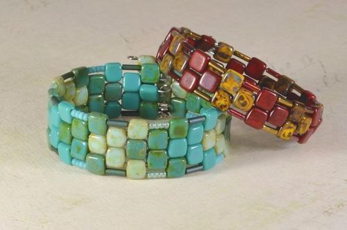 Archipelago Memory Wire Bracelet