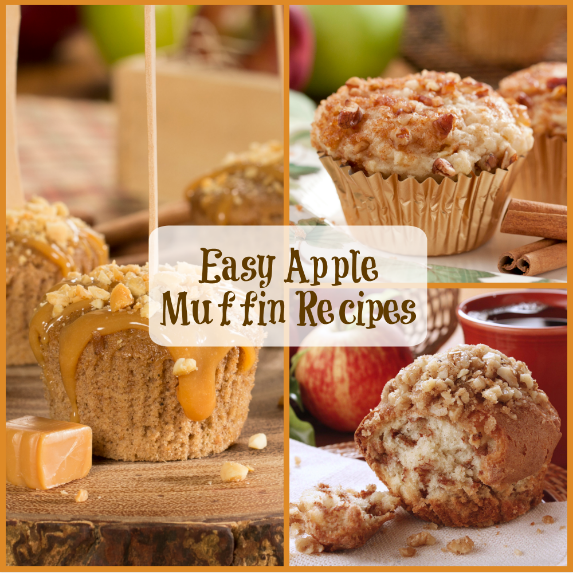 Easy Apple Muffin Recipes