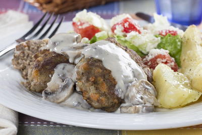 Homestyle Salisbury Steak