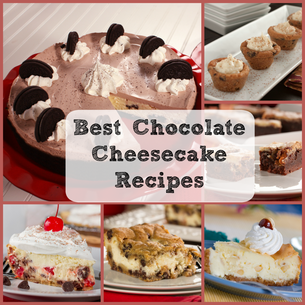 Best Cheesecake Recipes: 8 Chocolate Cheesecake Recipes | MrFood.com