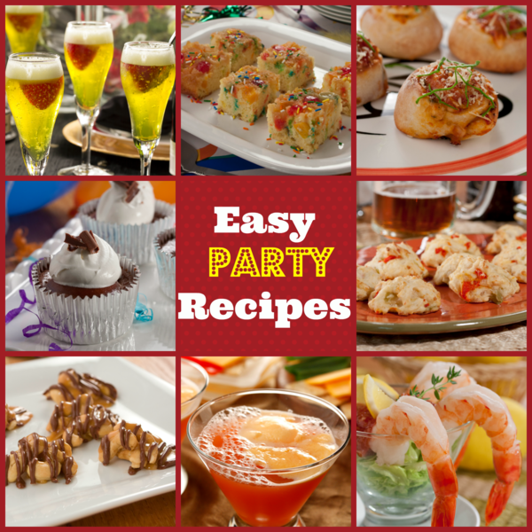 Easy party recipes
