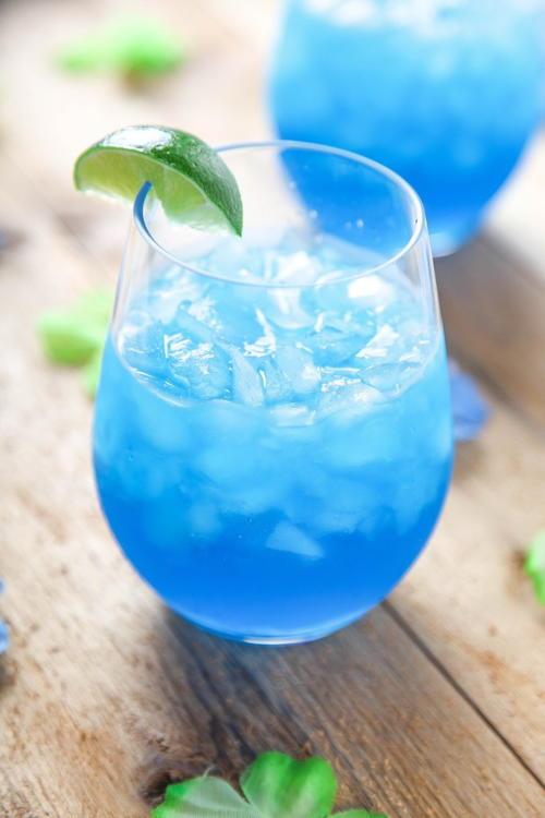 Easy Blue Monster Margaritas