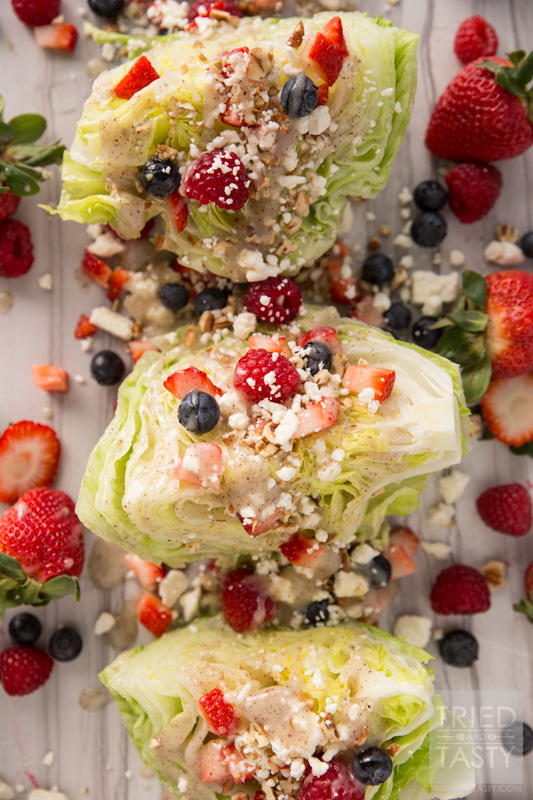 Mixed Berry Wedge Salad