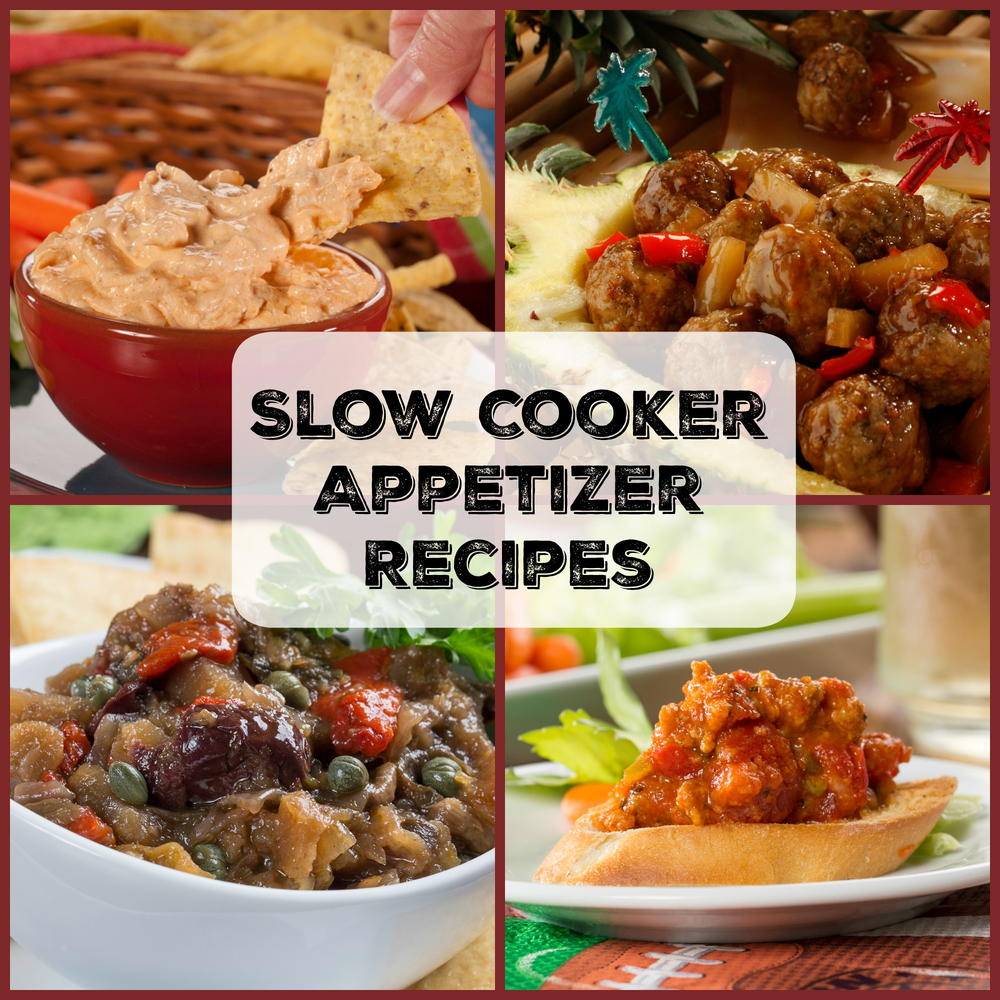 Yummy Slow Cooker Appetizer Recipes